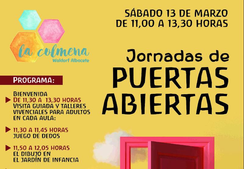 Jornada de puertas abiertas La Colmena – Waldorf Albacete