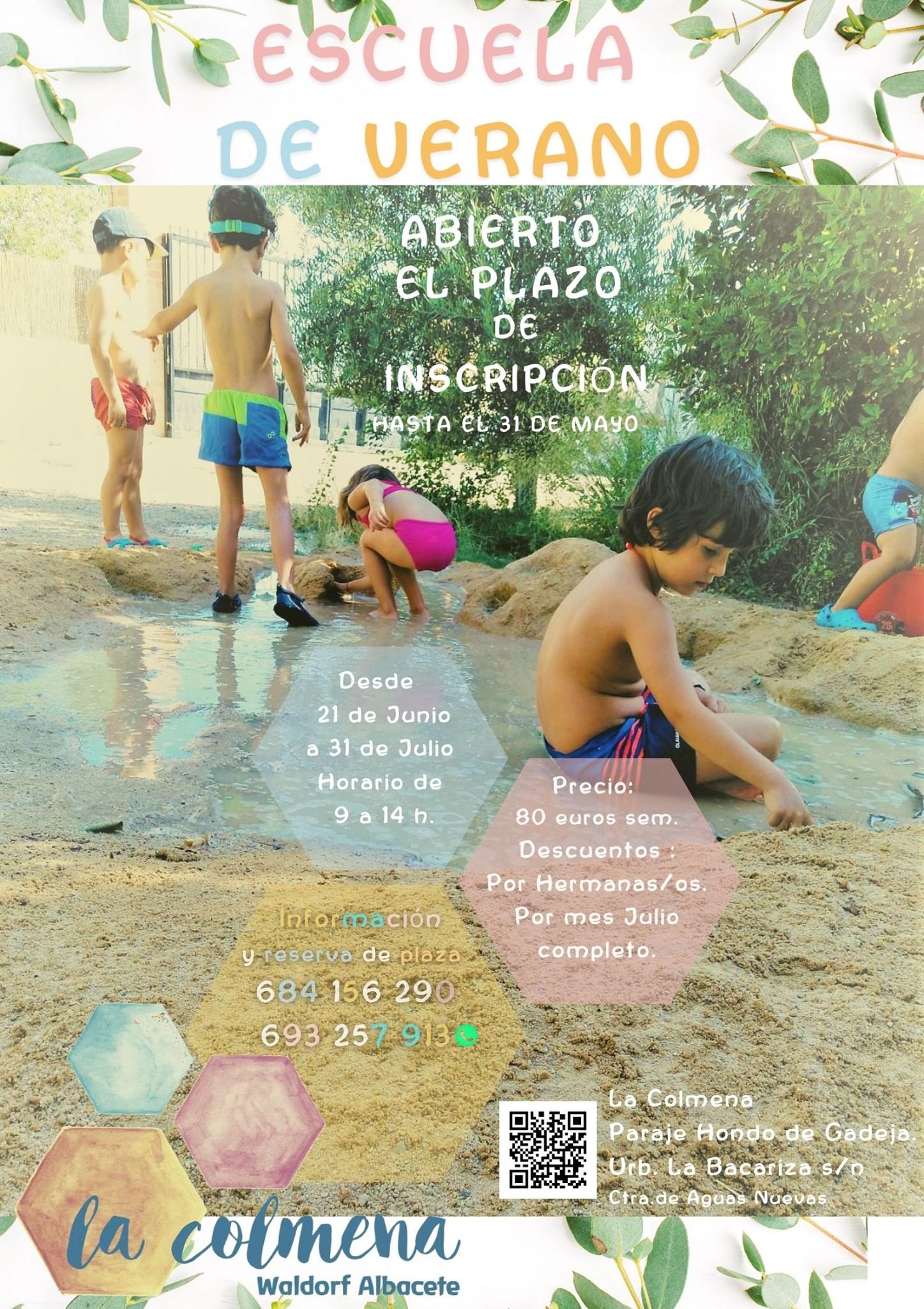 Escuela de verano 2021 - Waldorf Albacete La Colmena